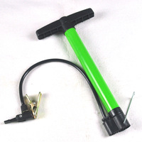 FREE SHIPPING Multifunctional steel pipe pump basketball football mountain bike electric bicycle mini pump 237g