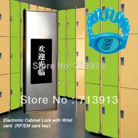 Free Shipping RF stainless steel metal cabinet door lock