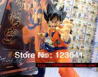 Free shipping High quality Japanese Anime Dragon Ball Z Budokai Goku PVC Figure Model Toy for Collection