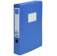 Thick plate blue file box a4 file box 2 3.5cm plastic file box information box
