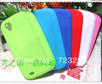 Free shipping Candy jelly color For Philips W832 phone Cover Back case soft silicone case / W832 phone case new