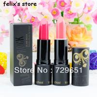 2013 New Cosmetic brand makeup 3pcs/lot Rock owl lipstick rouge make up lip stick free shipping H0978