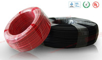 Single core solar cable 2.5mm2 electric wire(250meters/roll) photovoltaic cable, 14AWG PV cable with TUV certification.