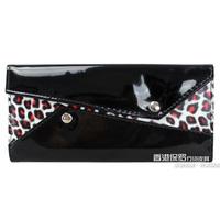 2013 wallet japanned leather leopard print women's long design wallet women's clutch card holder female bags