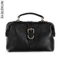 Hot-selling INTASTEY cowhide genuine leather bag brief doctors bag formal women's handbag 8 - 38