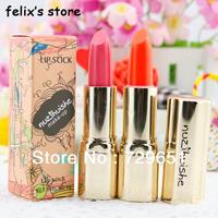 2013  Cosmetic brand makeup 5pcs/lot purple lipstick rouge make up lip stick free shipping H0979