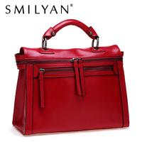 Smilyan 2013 fashion female vintage bag motorcycle messenger bag one shoulder portable women's messenger bag