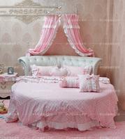 Dream round bed bedding round bed piece set crystal baby round bed round bed home textile