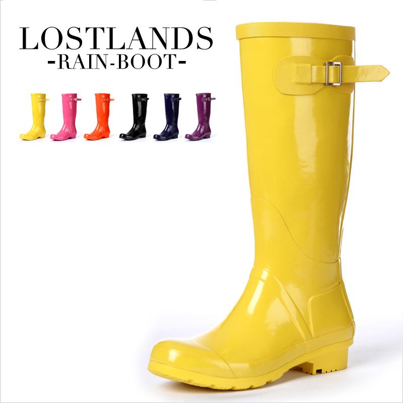 Yellow Rain Boots Women