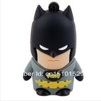 cartoon Batman model USB 2.0 Enough Memory Stick Flash pen Drive 2-32GB free shipping