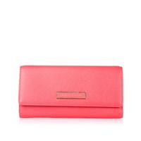 Charles keith women's fashion color block long design flip wallet ck2-10680057