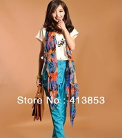 2013 New silk long scarf winter colorful super chiffon scarf  warm fashion shawls women scarf gift C1050