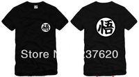 Free shipping 2014 new sale dragon ball t shrt goku printed tee shirt dragon ball z short-sleeve shirts 100% cotton 6 color