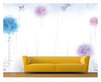 Modern brief stars large mural tv background wallpaper sofa customized mural