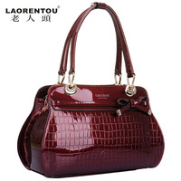 LAORENTOU new 2013 women leather handbags fashion ladies totes evening bags vintage handbag designer brand genuine leather bags
