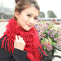 Women's scarf net scarf chromophous noodles dual use scarf spring and autumn scarf muffler