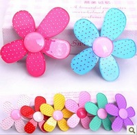 Hot 2013 hot-selling child accessories acrylic hairpin child hair clips