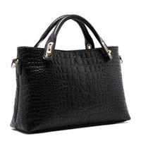 2014 autumn women's handbag bag fashion crocodile pattern messenger bag fashion ol handbag female brief