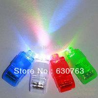 Free shipping,4 color LED finger light,Leaser finger lamp,chrismas night light,flashing children toy, party toy 100pcs/lot