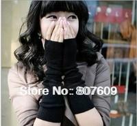 Fashion cute new autumn winter gloves fingerless gloves women gloves knitted sleeve