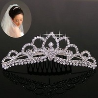 Free shipping H033 accessories rhinestone insert comb the bride hair accessory hair accessory bride