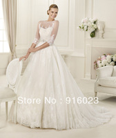 Luxury wedding dress2013 advanced customization foreign trade of the original single elegant fashion one-shoulder mermaid dress