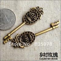 20PCs  OLD Look Antique Skeleton Vintage Steampunk keys Assorted Styles Wedding Favor Gifts