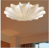 Ceiling light home bedroom lights fashion brief lamps silk ceiling light