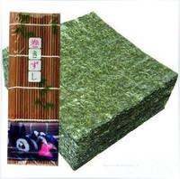 Wholesale High Quality Seaweed,Nori For Sushi Seaweed Rori Sushi Sea Sedge,Kelp Dried 50pcs Bamboo Rolling Mats Nori Tools