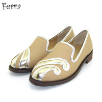 shoes woman British style women's flat shoes flat heel single shoes vintage punk casual low-heeled shoes