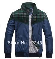 Fall 2013 authentic new septwolves men leisure fashion business men's wear to keep warm fleece jacket sports coat     WIW13888