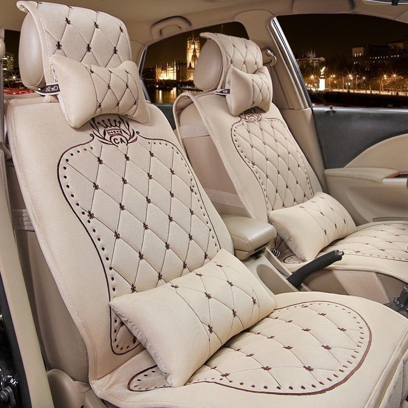 car seat Female car seat fabric regal BUICK gt four seasons barrowload triumphant more seat cover(China (Mainland))