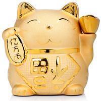 Gold lucky cat decoration piggy bank piggy bank opening gifts lucky cat 3093