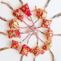 Chinese style unique flannelet festive sachet hangings decoration sachems