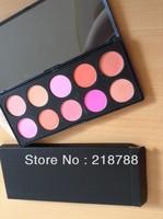 Free Shipping  EMS/DHL Wholesale(10pcs/lot) 10 Colors Professional brand name ma Makeup Powder Cosmetic blush palette