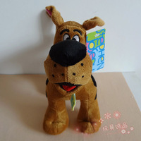 "Free Shipping High Quality Soft Plush Cute 12"" Scooby Doo Dog Dolls Stuffed Toy 3pcs/lot"