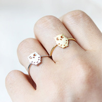 wholesale 10pce/lot mix color Free shipping 2014 sale christmas Exquisite the OWL Ring Finger Ring for women