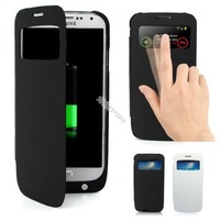 3200mAh Backup Battery Power Case Flip Cover For Samsung Galaxy S IV S4 i9500