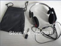 High quality headphones blue