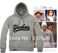 Free shipping 2013 hot sale Autumn thickening brand hoodies NY New York City Unisex Adult casual loose pullover 8 Color