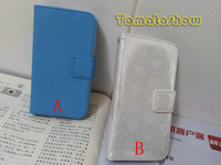 New Stylish PU Leather Magnetic Flip Wallet Case Cover Pouch Credit ID Card Holder For Apple iPhone 4 4G 4S Free Shipping