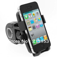 HX-M-X5 Universal Easy One Touch Lock Bike Handlebar Mount Holder for Smartphone iPhone5s HTC Mobile Phone Motorcycle Bracket X5
