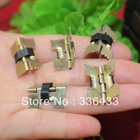 20MM long toothed spring color plated hinges concealed hinges coincide page