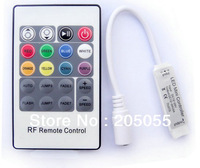 Mini 20 Key RF Remote Controller 4 Pin For RGB 3528 5050 LED Strip Lights 12V-24V