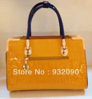 Counters authentic handbags shoulder bag handbag paint Letters pattern