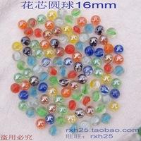 Cat-eye beads 16mm tank vase decoration , glass ball drauhghts flower marbles