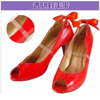 50 invisible leather belt sandals high-heeled shoes shoelace shoes