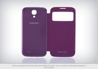 Freeshipping Samsung Galaxy S4 S View Flip Cover Case, , Touch Screen S-View Window, Automatic Power On/Off Display