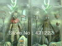 "LOT 2 NEW NECA Tim Burton 9 Nine Movie CHARACTER 9 & CHARACTER 1 Action Figure 6"""