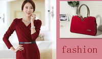 2014 new fashion women handbag totes solid shoulder bag vintage bolsas freeship